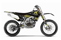 "ARMA Complete Graphics Kit  YZ 450F  ""10-12""  White"