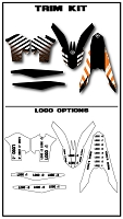 Team Series One Custom Trim Kit- KTM