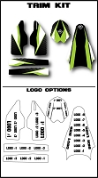 Team Series 2 Custom Trim Kit- Kawasaki
