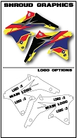 Pro Team Series 2 Custom Shroud Kit- Suzuki