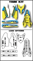 Pro Team Series 4 Custom Trim Kit- Suzuki