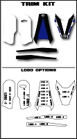 Pro Team Series 4 Custom Trim Kit- Husqvarna