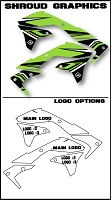 Pro Team Series 4 Custom Shroud Kit- Kawasaki